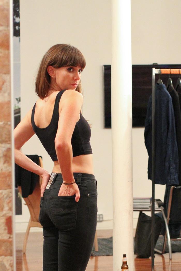 Nudie Jeans fitting
