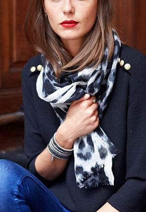 Ethically made scarf