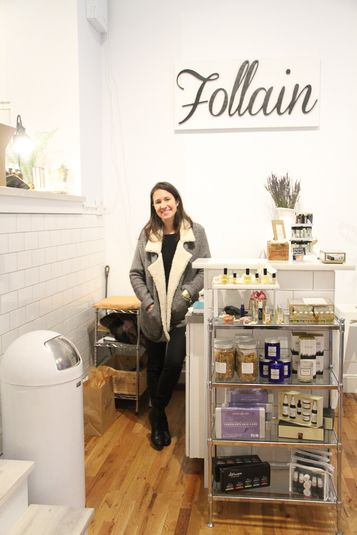 Tara, owner of Follain