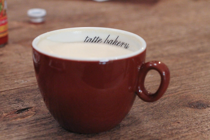 Tatte coffee cup