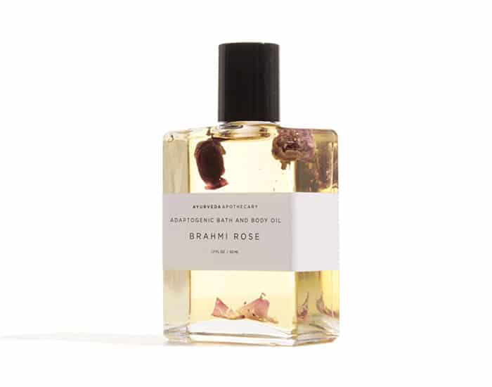 Brahmi Rose Bath and Body Oil at Zady