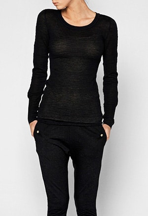 Aiaya // llama wool long-sleeved tee
