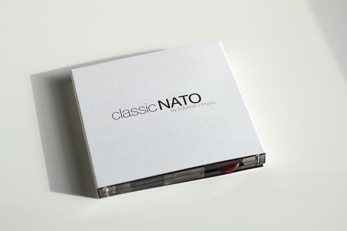 Minimalist // classic engineering NATO watch comes in this simple packaging