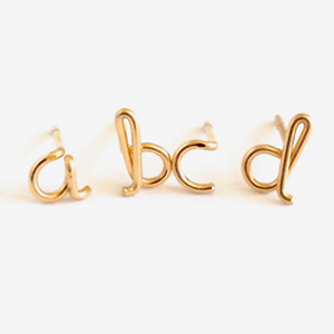Pick out her first and last initial for a thoughtful, custom gift.