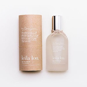 """With notes of pear, jasmine and fresh cut grass, Leila Lou is clean, fresh and totally addicting."""