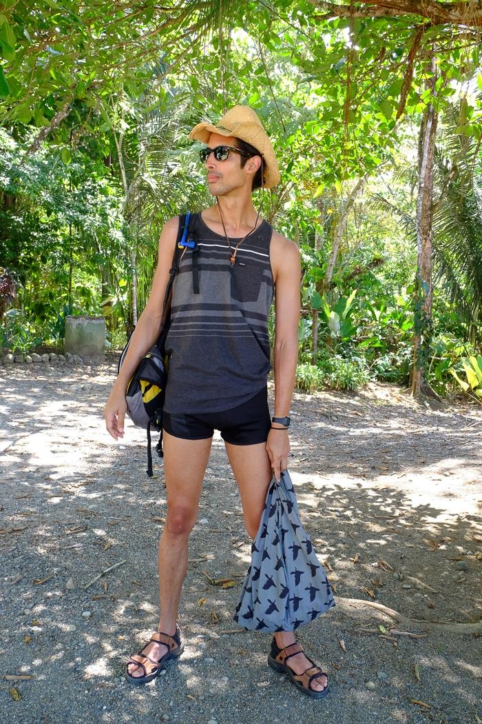 Men's packing list for Osa Peninsula, Costa Rica