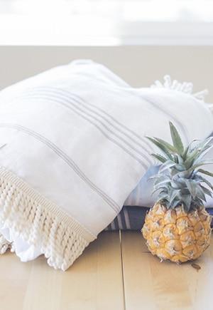 Organic turkish towels by Fair Seas