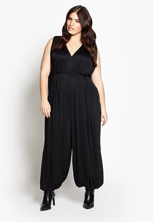 Beth Ditto jumpsuit | made in NYC | Up to 28