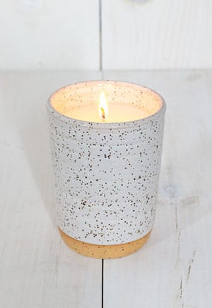 A chic alternative to those awful Yankee Candles. It will match any room in the house!
