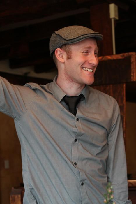 Tuthill House head bartender Patrick