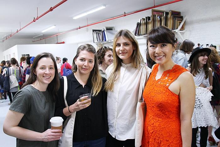 EWC members Rebecca, Nichole, Renee, and Juhea