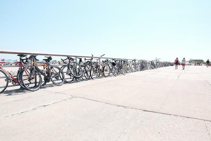 Bikes Fort Tilden