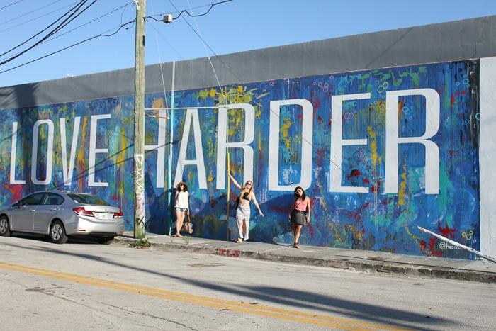 Lover Harder street art Wynwood