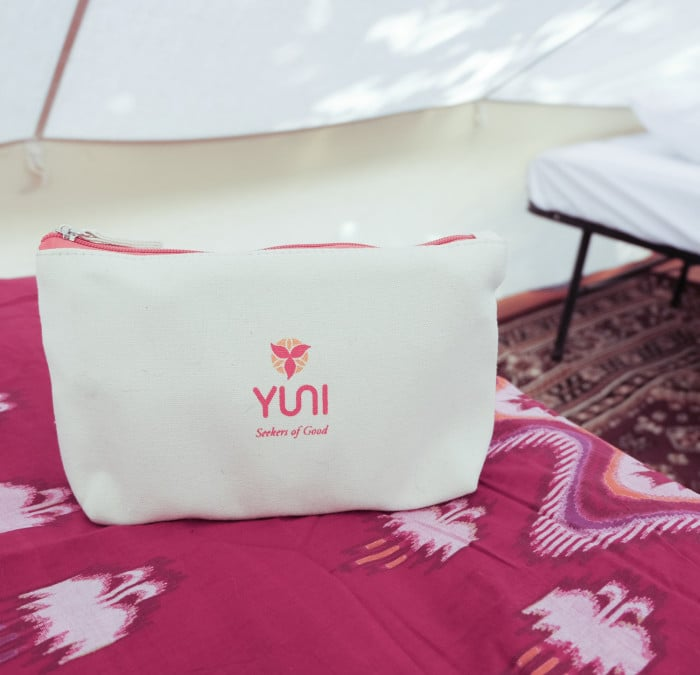 Yuni Festival kits has everything you need for staying fresh, clean, and comfortable