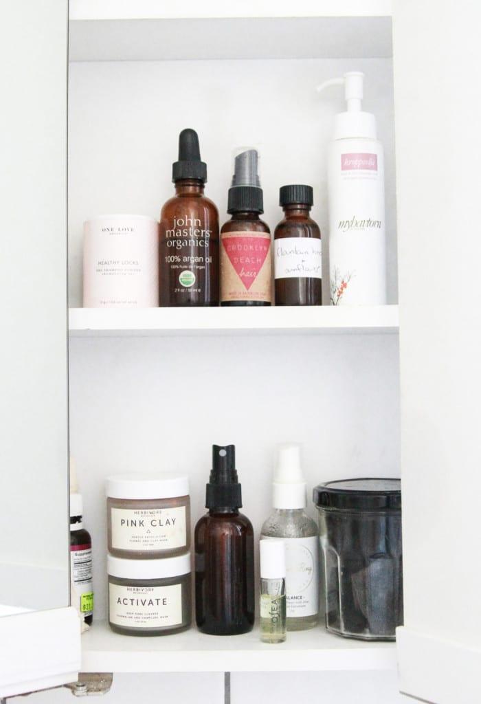 Alden Wicker // EcoCult's clean beauty routine
