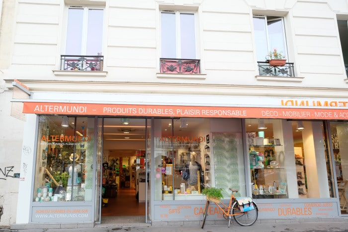 Altermundo sustainable shopping Paris