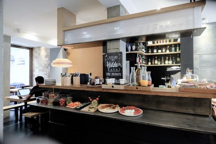The organic continental breakfast buffet