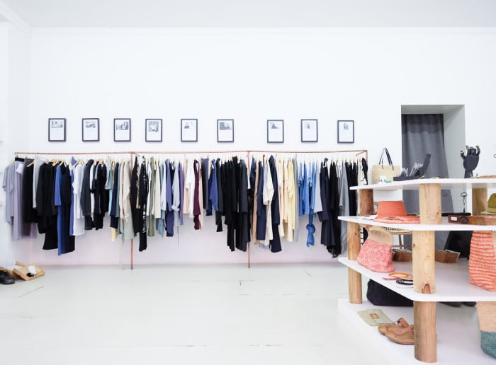 Sustainable fashion Homage Store Berlin