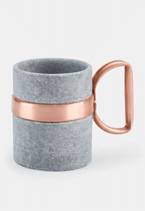 Soapstone mug keeps your drink hot or cold // Eco-Friendly Holiday Gifts