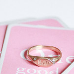 Vanessa Lianne's Custom Recycled Gold Signet Ring Is a New Heirloom