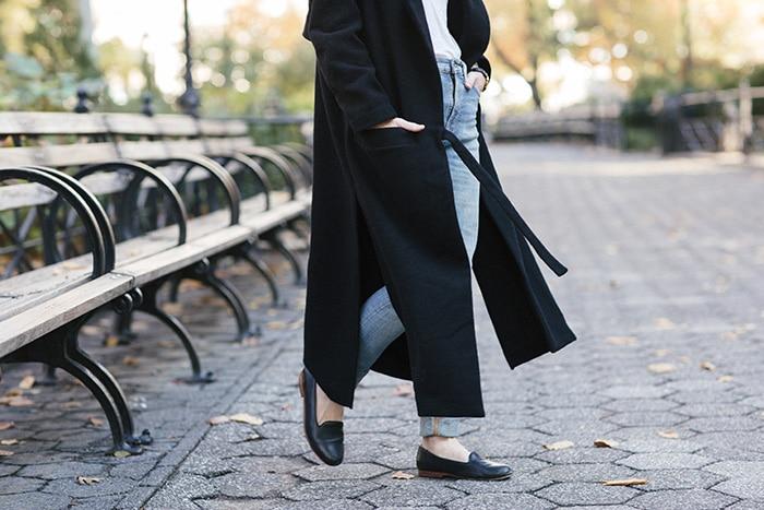 Black Duster Jacket // Sustainable!
