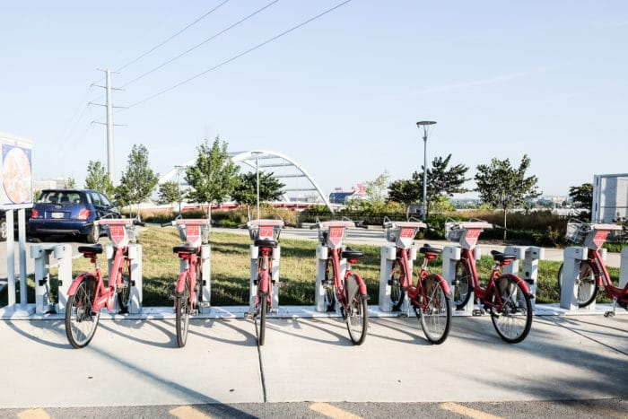 B-cycle bike share Nashville