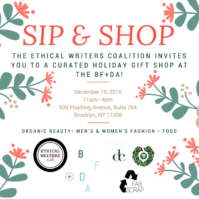NYC Sustainable Holiday Events and Pop-Ups, December 2nd Edition