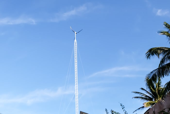Wind turbine Tulum
