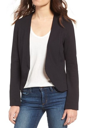 Amour Vert makes sustainable, ladylike basics, like this versatile jacket.