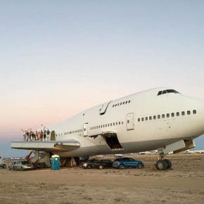 Weekend Reading (and Listening): Recycling a Boeing 747 as Art