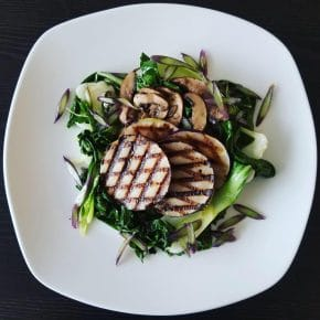 A Low-Waste, Farmshare Recipe: Grilled Kohlrabi on a Bed of Vegetables