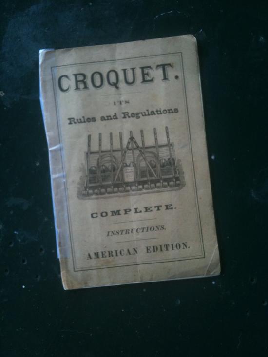 croquetmanual