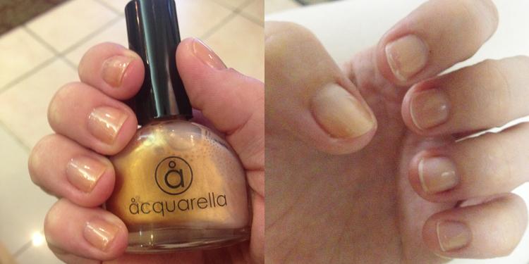 Aquarella non-toxic nail polish