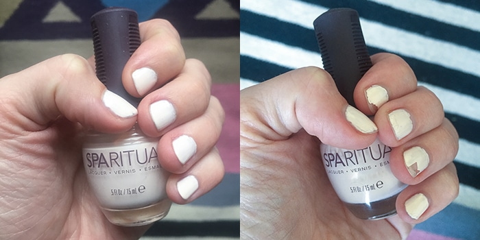 SpaRitual nail polish review