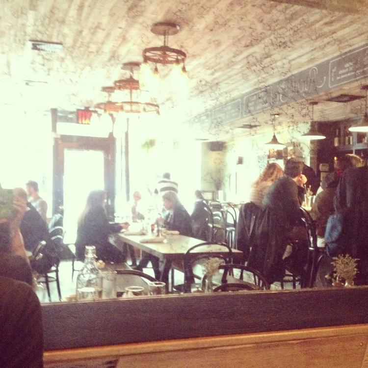 Rucola, a farm-to-table restaurant in Brooklyn