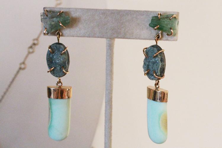 Bali-inspired earrings