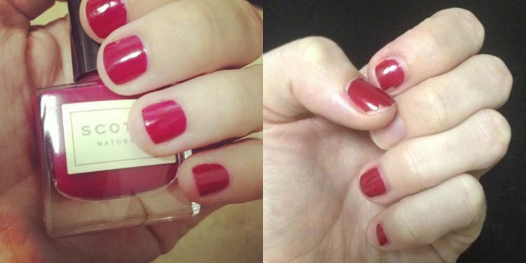 Scotch nail polish