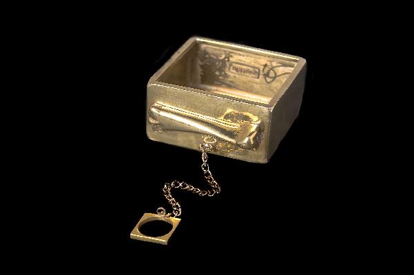 Brass cuff Mettle