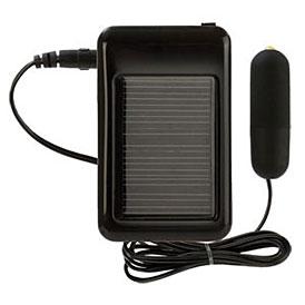 Solar powered vibrator