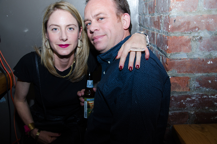 Lurk perfumer Anne Sanford Nelson and her business partner, James