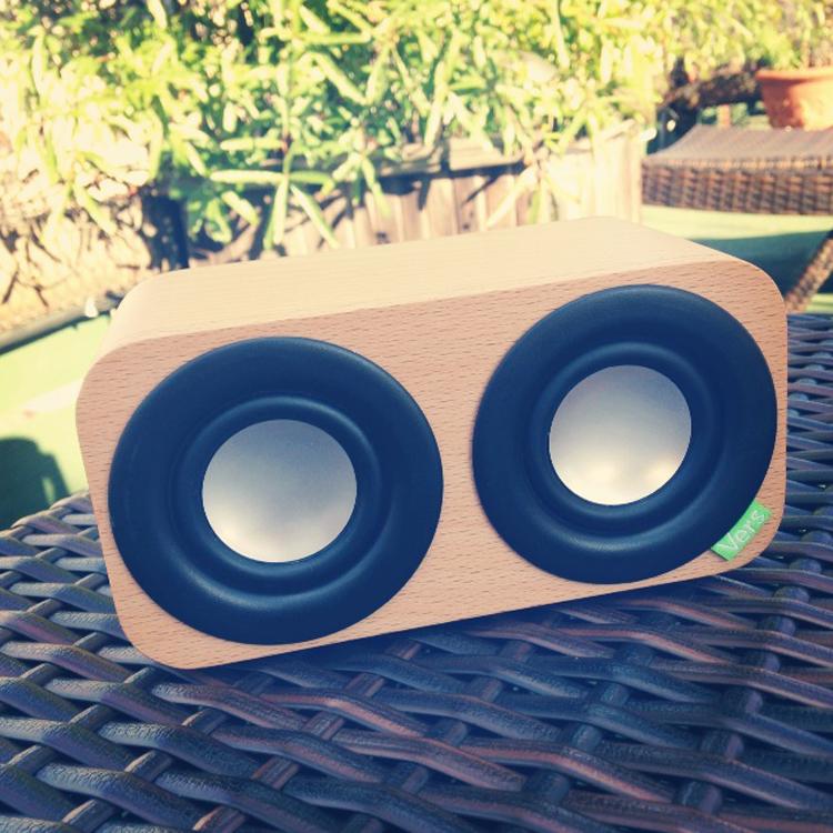 Eco-friendly bluetooth speaker