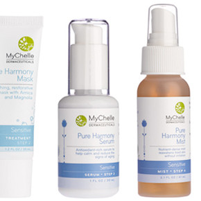 My Wildest Wishes Come True Review: MyChelle Pure Harmony Sensitive Skin Set