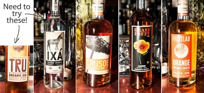 organic liquors