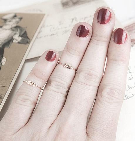 s_EricaW_Infinity Midi Rings on hand_$35