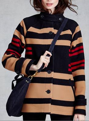 Pendleton Toboggan Striped Jacket, Zady, $498
