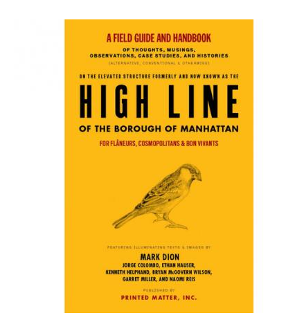 High Line field guide