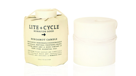lite+cycle pillar candle