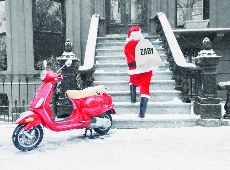 Zady Santa Clause delivery