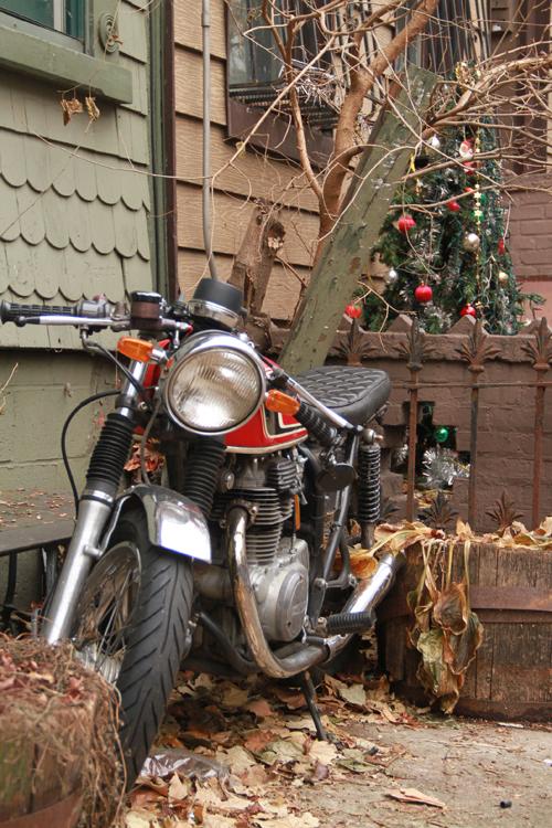 Christmas Motorcycle