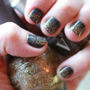 Easy and Non-Toxic New Year's Nails